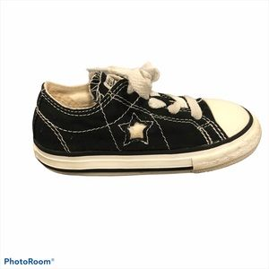 Converse black One Star sneakers 7